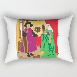 arnolfini Rectangular Pillow