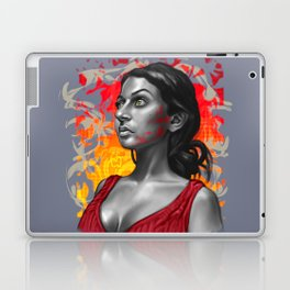 Paola- Red Paint Laptop & iPad Skin
