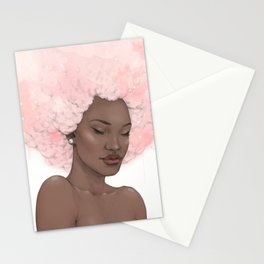 Pink Fro Stationery Cards