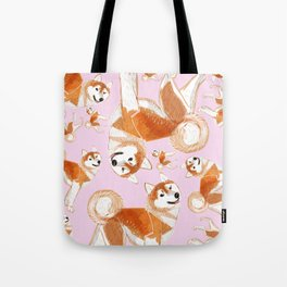 Akita Inu (Pattern) Tote Bag