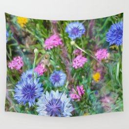 Cornflower Party Wall Tapestry