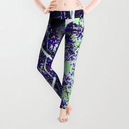 Sifaka in Purple Leggings