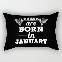 january Rectangular Pillow