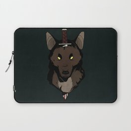 Half Friend means Half Foes Laptop Sleeve
