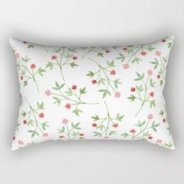 Blossoming branches Rectangular Pillow
