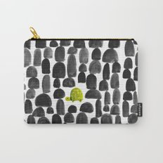 Turtle in Stone Garden Carry-All Pouch