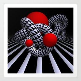 opart imaginary -9- Art Print