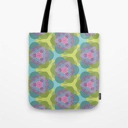 Springflower-Kaleidoscope Tote Bag