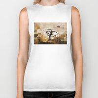 desert Biker Tanks featuring DESERT by Carley LoFaso