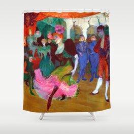 Toulouse Lautrec Marcelle Lender Dancing the Bolero Shower Curtain