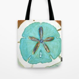 Sand Dollar Star Attraction Tote Bag