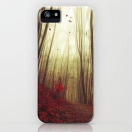 Leaf by Leaf iPhone Case