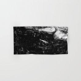 Reflecting Pond (Black & White) Hand & Bath Towel