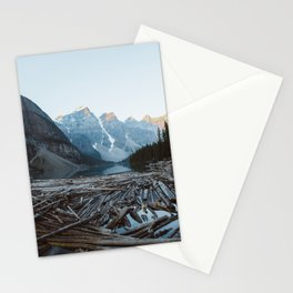 Moraine Lake Sunrise Stationery Cards