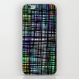 DP035-2 Colorful striped iPhone Skin