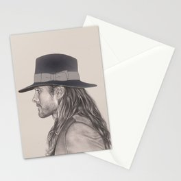 JARED LETO AND HIS HAT Stationery Cards