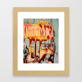 city tour Framed Art Print