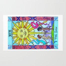 The Sun - Tarot Rug