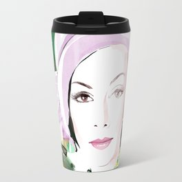 Vogue Fashion Illustration #5 Travel Mug
