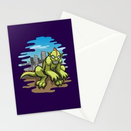 City Monster Stationery Cards