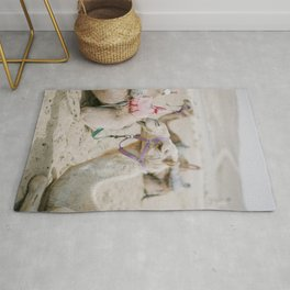 Sassy Camel Friends - Holy Land Fine Art Film Photography Rug
