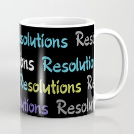 Resolutions becomes Solutions Coffee Mug