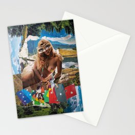 Milking Our Forests Stationery Cards