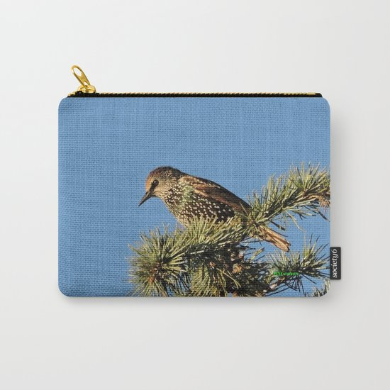 O My Starling, Clementine! Carry-All Pouch