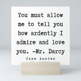 56   | Jane Austen Quotes | 190722 Mini Art Print