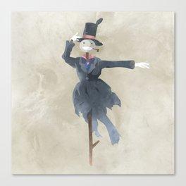 Howl's Moving Castle - Turnip-Head illustration - Miyazaki, Studio Ghibli Canvas Print