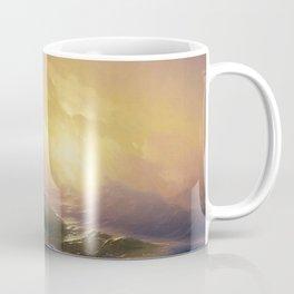 The Ninth Wave - Aivazovsky Coffee Mug