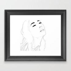 Memories(illustration) Framed Art Print