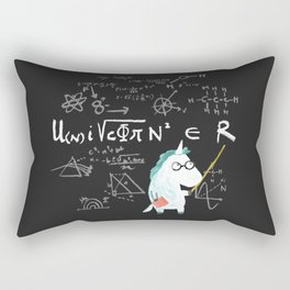Unicorn = real Rectangular Pillow