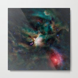Rho Ophiuchi Cloud Complex Metal Print