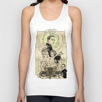 great gatsby Tank Tops featuring the great nouveau gatsby by yo, sb!