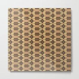 wicker seamless pattern Metal Print