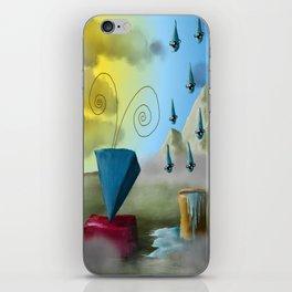 Hello Dali iPhone Skin