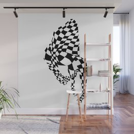 Chequed Out Wall Mural