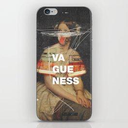 Vagueness iPhone Skin