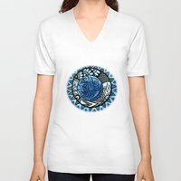 ice V-neck T-shirts featuring Ice by Wealie
