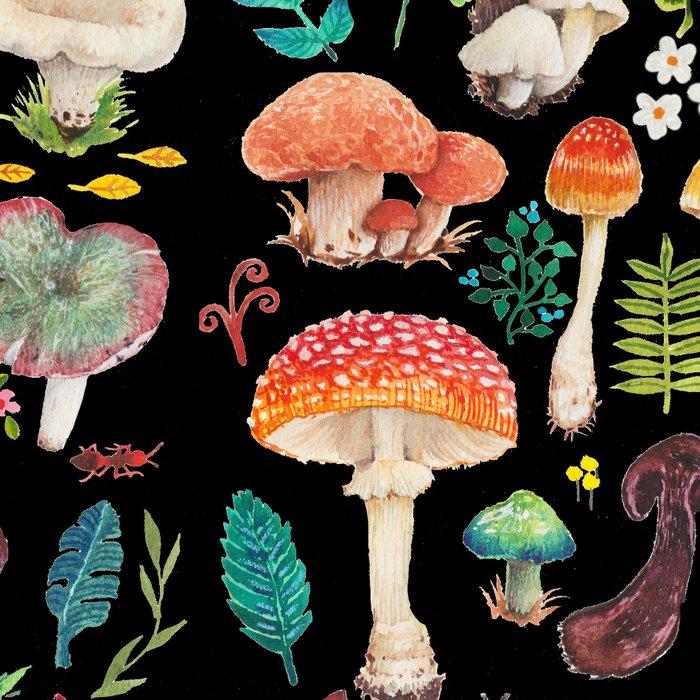 Mushroom heart Leggings
