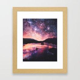 Cielo Framed Art Print