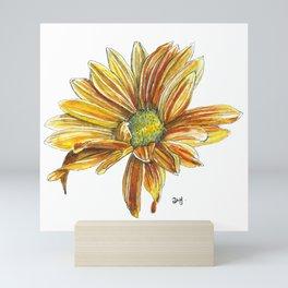 Rudbeckia flower Mini Art Print