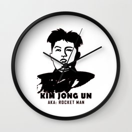 Kim Jong Un Wall Clock