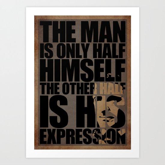Emerson's Expression Art Print