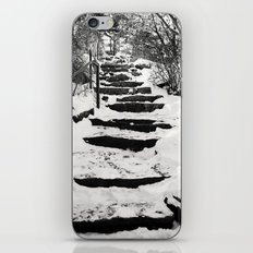 Snowy Stairs iPhone & iPod Skin