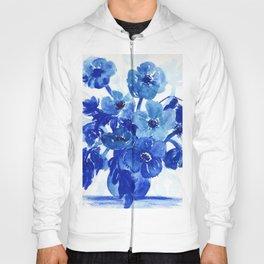 blue stillife Hoody