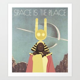 SUN RA: SPACE IS THE PLACE Art Print