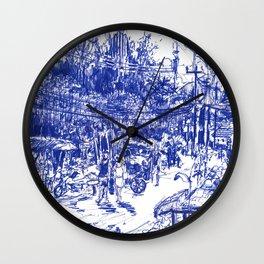Rim Hat Road, Kamala Beach Wall Clock
