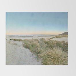 Oregon Coast Sunrise Throw Blanket